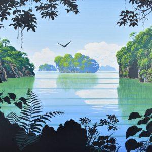Los Haitises painting