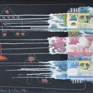 Compras y ventas painting