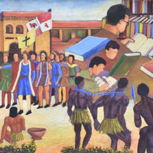 Metamorfosis de la cultura dominicana Painting
