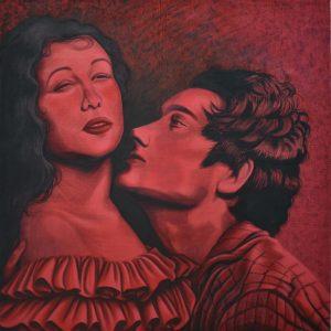 Pasión roja Painting