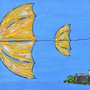 Vientos de victoria painting