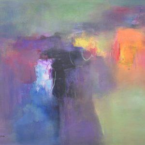 Abstración de invierno painting