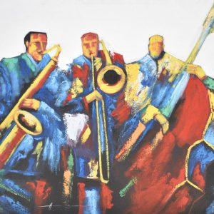 Jazz latino painting