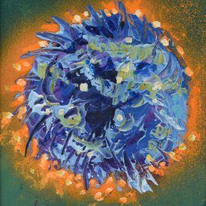 Mandala cosmica painting