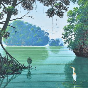 Los Haitises 20 x 16 painting