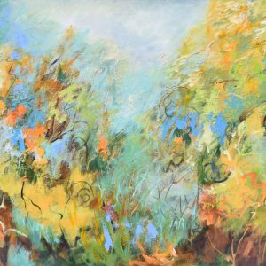 Bosque 3 painting