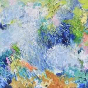 Bosque 4 Las emociones desbordadas painting