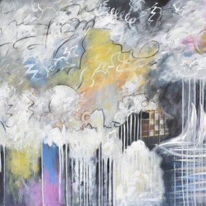 La lluvia painting