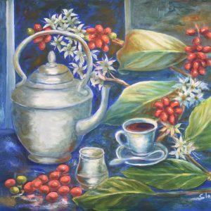 Café painting
