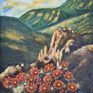 Flores de la Montaña Flores de la Montaña painting