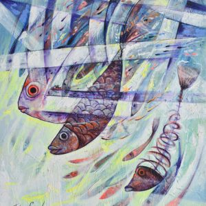 Peces V1 painting