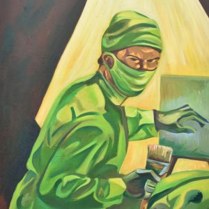 el cirujano pintor painting