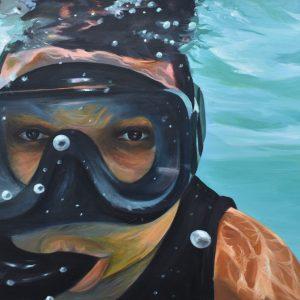 El Buzo painting