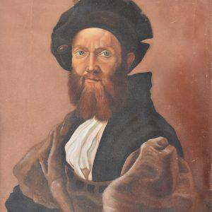 Retrato de Baltazar Castiglioni painting