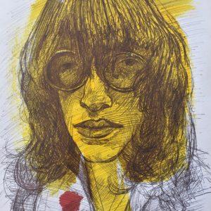 Joey Ramone painting