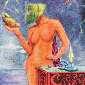 Princesa Leía en utopía painting