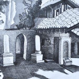 Arquitectura painting