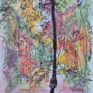 Zona a color painting