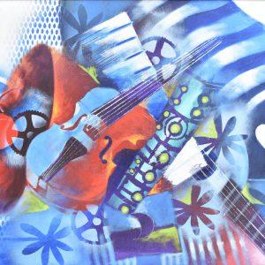 Melodias del alma painting