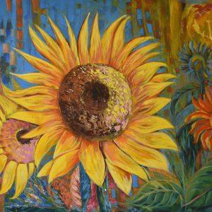 Girasoles I painting
