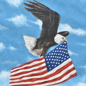 Águila americana painting