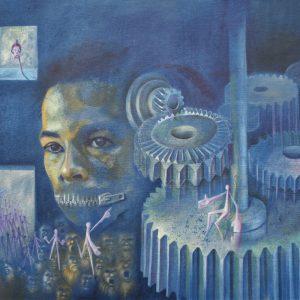 Maquinas humanas painting