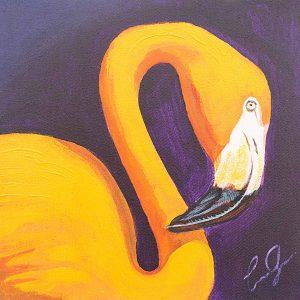 Flamenco 1 Painting