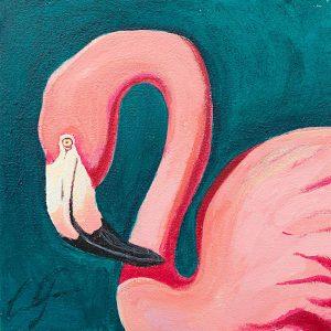 Flamenco 2 Painting