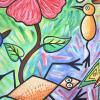 Desmitificación de una cayena painting close up 4