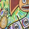 El mágico ritual del murcielago painting close up 4